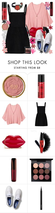 """'Cause I Know I'm Addicted To Your Drama, Baby, Here We Go Again"" by luvmrb61899 ❤ liked on Polyvore featuring Milani, Lulu Guinness, Keds, MAC Cosmetics and WithChic"