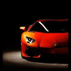 Epic shot of a Lamborghini Aventador