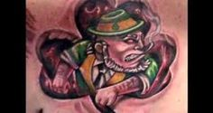 Watch the video at tattooteen.com to get some Irish tattoo ideas.