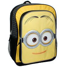 b29ba644cebe Despicable Me Minions Movie 16 inch Backpack - Mellow Yellow