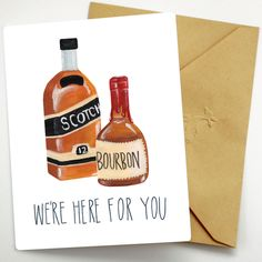 We're Here For You Card – Fawn Paper Co