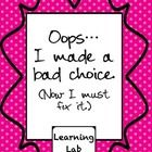 All kids make bad choices every once in awhile and should be held accountable and have logical consequences. To help them process their mistake an...