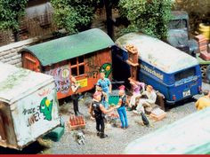 http://www.modelleisenbahn-figuren.com is proud to be a supplier of them with Model Train Figures and Scale Model Scenery