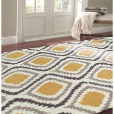 nuLOOM Handmade Modern Ikat Rug (7'6 x 9'6) | Overstock.com Shopping - Great Deals on Nuloom 7x9 - 10x14 Rugs