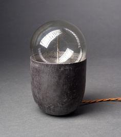 Coco Concrete Anthracite lamp   Chez Moi, Paris. for Spootnik