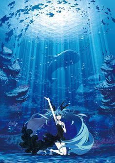 "Hatsune Miku ""Deep-sea girl"" (http://www.youtube.com/watch?v=x-y-jhTnb2A=player_embedded)"