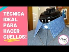 #46 PATRÓN Y CONFECCIÓN DE CUELLO CAMISERO/ Resultado de lujo 😍💕 - YouTube Youtube, Lunch Box, Videos, Sewing, Sewing Blogs, Sewing Patterns Free, Collar Pattern, Clothing Alterations, Sewing Stitches