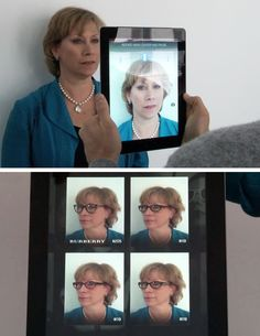 Here's a cool new way to shop for glasses: This app will create a 3D model of your face then fit you with digital frames.