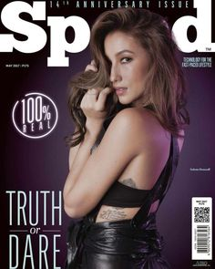 Solenn Heussaff graces the technology-lifestyle magazine SPEED 14th anniversary cover
