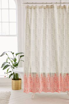 Shop Emma Eyelet Shower Curtain at Urban Outfitters today. We carry all the latest styles, colors and brands for you to choose from right here.