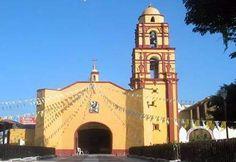 La iglesia de San Pablo Apostol, Axochiapan en Morelos