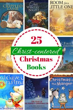 """""""Looking for a way to bring the spirit of Christmas into your home and share it with your children? These Christ-centered Christmas books are just what you need! Best Christmas Books, Christmas Tale, Meaning Of Christmas, All Things Christmas, Christmas Ideas, Frugal Christmas, Christmas Planning, Christmas Nativity, Christmas Activities"""