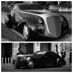 The Rolls-Royce Jonckheere Aerodynamic Coupe II Concept is quite sleek! Rolls Roys, Rolls Royce Cars, Vintage Cars, Vintage Style, Super Cars, Classic Cars, Bike, Gatsby, Cars
