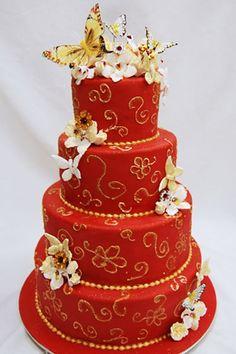 Wedding Cake....Oh oh...that's soooo pretty.