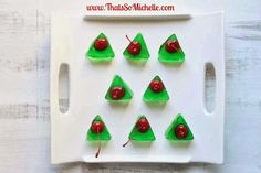Christmas Tree Jello Shots » That's So Michelle