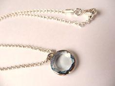 aquamarine pendant-