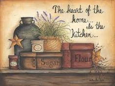 country kitchen artwork - Google Search