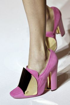 YSL shoes from Spring 12 show