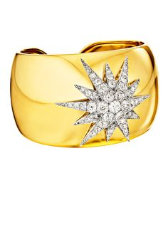 Gold and diamond cuff, Verdura. If I were ever given one of these, I would wear it CONSTANTLY!