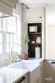 Bayberry Kitchen Remodel Reveal - Kitchen Makeover Kitchen Design #kitchen #makeover #remodel #traditional #modern #country #design #decorating Modern Grey Kitchen, Grey Kitchen Designs, Kitchen Reno, Kitchen Remodel, Kitchen Ideas, Kitchen Inspiration, Kitchen Colors, Inspired By Charm, Mason Jars