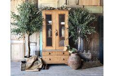 Rustic, Vintage Glazed Pine Cupboard   Originally A Tack Cupboard photo 1
