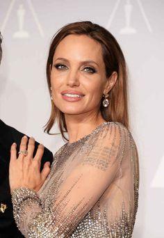 Angelina Jolie, makeup