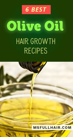 How to Use Olive Oil for Hair Growth - 6 Best Regrowth Recipes Found! - How to Use Olive Oil for Hair Growth – 6 Best DIY Natural Treatments and Masks for Stimulating Regrowth and Stopping Hair Loss - Olive Oil Hair Growth, Olive Oil Hair Mask, Natural Hair Growth, Hair Oil, Olive Oil For Hair, Olive Oil Hair Treatment, Hair Growth Treatment, Best Hair Regrowth Treatment, Grow Taller