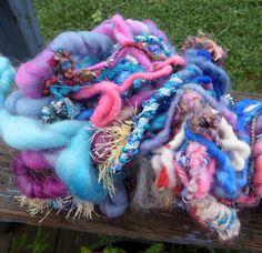 Art Yarn Handspun Yarn Life Is A Caberet 26 by SimplyHandspunYarn, $29.00