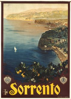 Sorrento - ENIT by Borgoni, Mario | Vintage Posters at International Poster Gallery