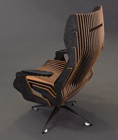 Plywood Furniture, Unique Furniture, Furniture Decor, Furniture Design, Deco Design, Wood Design, Plafond Design, Parametric Design, Furniture Inspiration