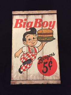 Bob's Big Boy Restaurant Frisch's Shoney's Wooden Slat