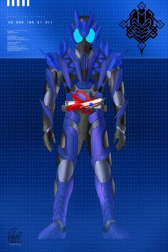 Kamen Rider Zi O, Kamen Rider Series, Hero Time, Zero One, Marvel Entertainment, Power Rangers, Cyberpunk, Character Art, Geek Stuff
