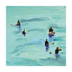 Waiting, Malibu 2012 Limited Edition Art Print by Annie Seaton   Minted