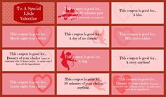 The Ultimate Pinterest Party, Week 130 | Valentines Coupons For Kids