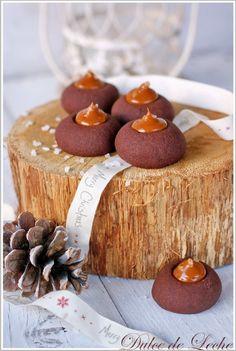 Čokoládové koláčiky so slaným Dulce de Leche