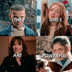 the girls are powerful.