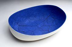 "Untitled bowl 2 // Céramique, cuissons multiples, 71 x 27 x 18 cm // Ceramic, multiple firings,  28"" x 11"" x 7"" /// $2,800"