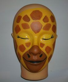 giraffe face painting - Google Search
