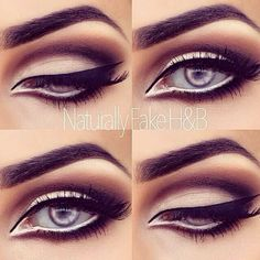 I think that this would work well on stage! It defines the eyes and opens them!