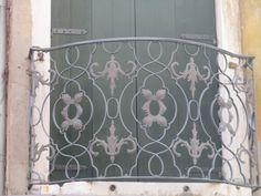 Iron Balcony Venice, Italy