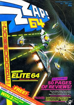 Zzap 64 magazine. One of the computer game mags I used to devour each month as a youngster, getting excited about new game releases.