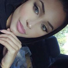 Beautiful, Arab, selfie