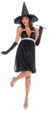Womens Glamour Witch Halloween Costume #CompleteCostume