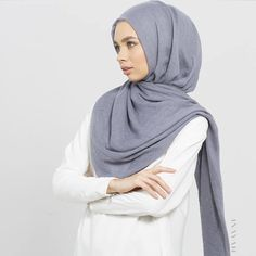INAYAH | Denim Modal #Hijab www.inayah.co