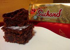 Brownie de turrón de chocolate y arroz inflado para #Mycook http://www.mycook.es/cocina/receta/brownie-de-turron-de-chocolate-y-arroz-inflado