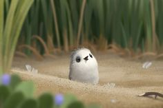 May you always have the courage to face your fears.   Disney Short Piper