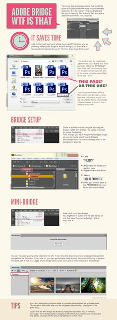 Adobe Photoshop / Bridge Tutorial by *akeli on deviantART