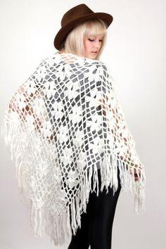 Save $18   Vintage White Crochet Cape, $60.00 (http://www.skinnybitchapparel.com/vintage-white-crochet-cape/)