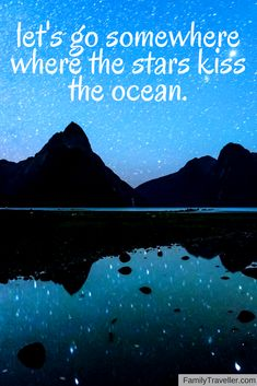 Let's go somewhere where the stars kiss the ocean. Get lost in the night sky all across the country. Choose your next vacation destination here.