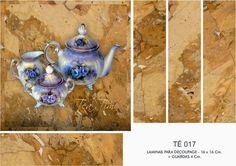 ЛИСТЫ ДЛЯ DECOUPAGE DECOPAPER: Лезвия для чайных BOX 16x16 - 10x10 + GUARD (1)
